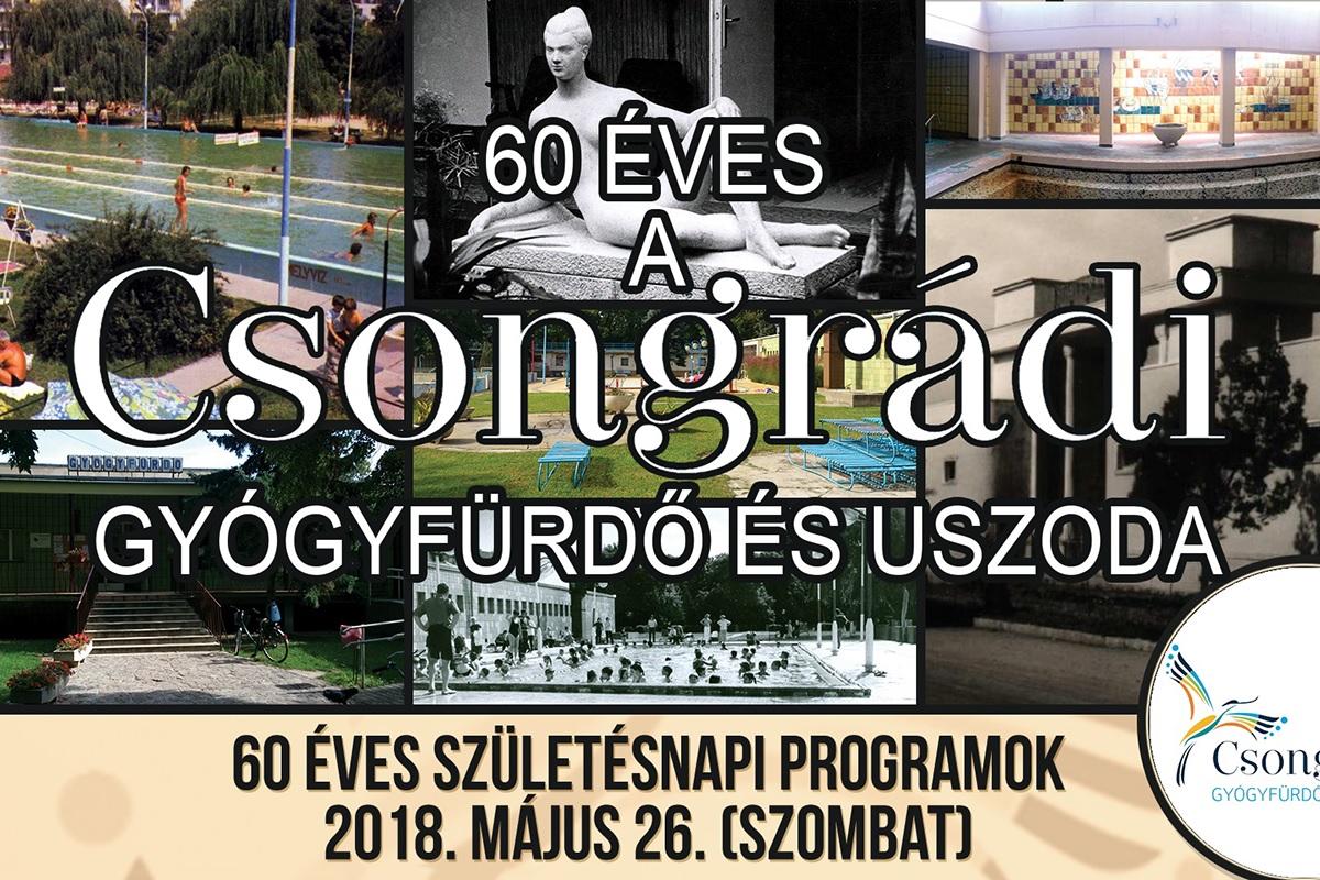 születésnapi programok 60 éves a csongrádi fürdő – születésnapi programok – Csongrád Fürdő születésnapi programok