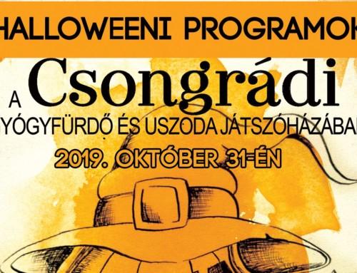 Halloweeni programok
