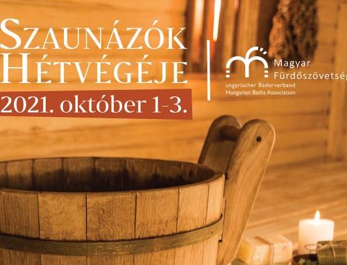 Szaunázók hétvégéje – 2021. október 1-3.